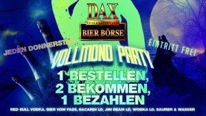 Jeden Donnerstag – Vollmond Party 2 für 1