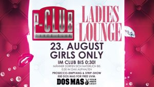 Ladies Lounge. GIRLS ONLY