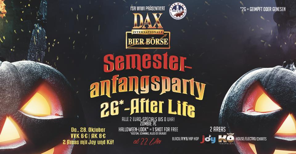 Semester Anfangsparty